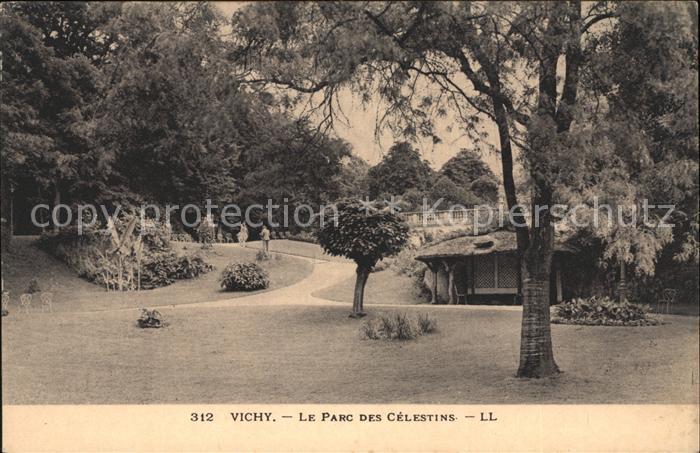 Vichy Allier Parc des Celestins Kat. Vichy