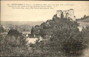 Montoire sur le Loir Chateau vue generale Kat. Montoire sur le Loir