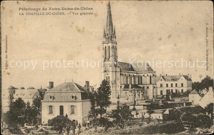 Viroflay Perlerinage de Notre Dame du Chene Chapelle Kat. Viroflay