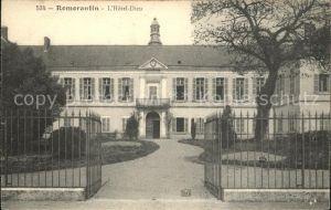 Romorantin Lanthenay Hotel Dieu Kat. Romorantin Lanthenay