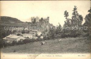 Saint Flour Cantal Chateau de Sailhans Kat. Saint Flour