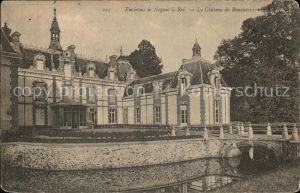 Nogent le Roi Chateau de Renancourt Pont Kat. Nogent le Roi