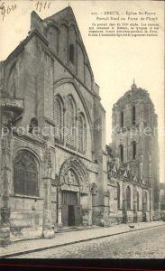 Dreux Eglise Saint Pierre Portail Kat. Dreux