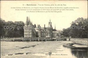 Maintenon Chateau vue prise du Parc Kat. Maintenon