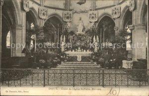 Dreux Coeur de l Eglise Saint Pierre Kat. Dreux