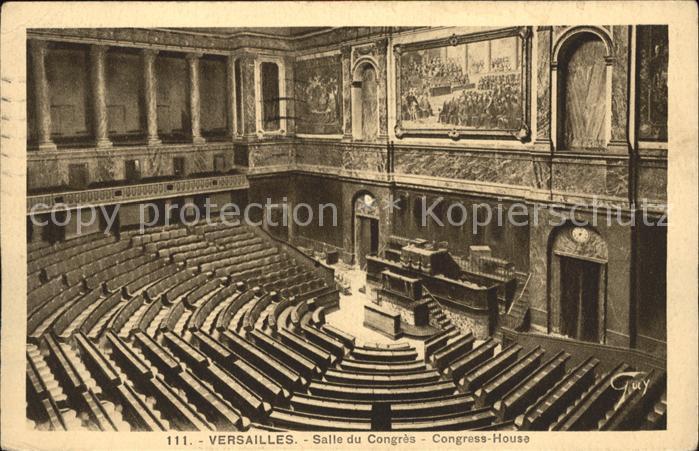 Versailles Yvelines Salle du Congres Kat. Versailles