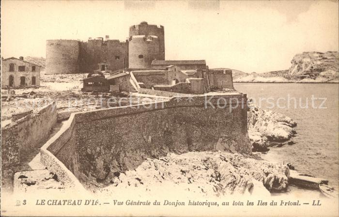 Ile d If Chateau d If Festung Kat. Marseille