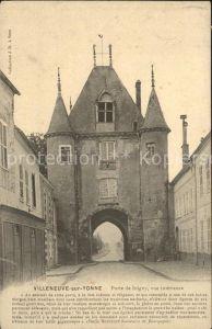 Villeneuve sur Yonne Porte de Joigny Kat. Villeneuve sur Yonne