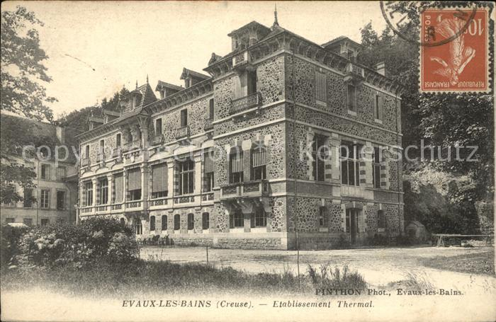 Grand Hotel Thermal Evaux Les Bains
