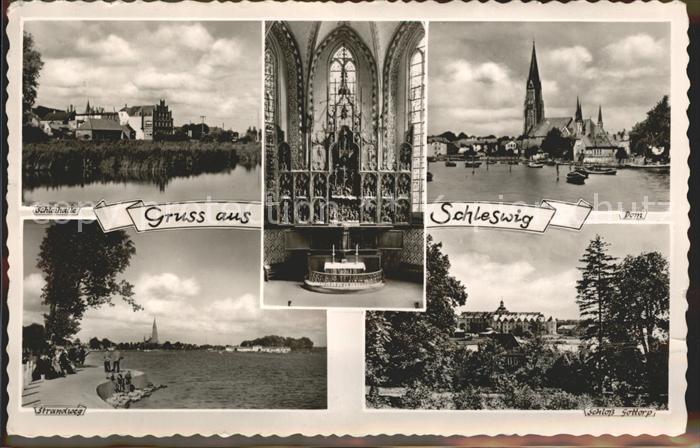 Schleswig Holstein Schleihalle Strandweg Schloss Gottorp Dom / Schleswig /Schleswig-Flensburg LKR