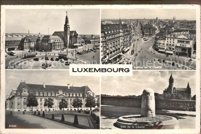 L 1000 luxemburg arbed 1949 nr 262986527 oldthing ansichtskarten europa belgien frankreich - Magasin avenue de la gare luxembourg ...