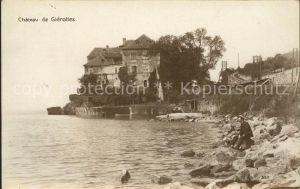 St Saphorin Lavaux Chateau de Glerolles au Lac Leman Kat. St Saphorin Lavaux