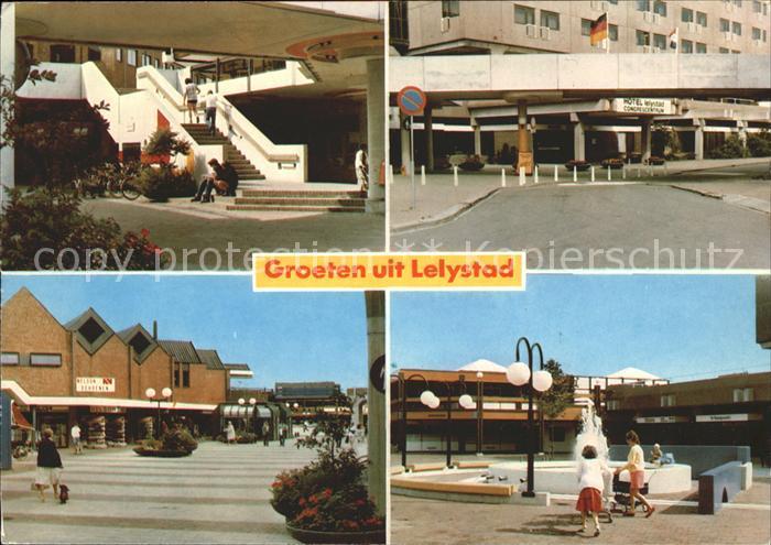 Lelystad Winkelcentrum De Gordiaan Einkaufszentrum Kat. Lelystad
