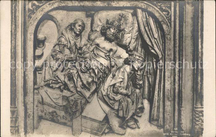 Bamberg Dom Grabmal Kaiser Heinrich  Kat. Bamberg