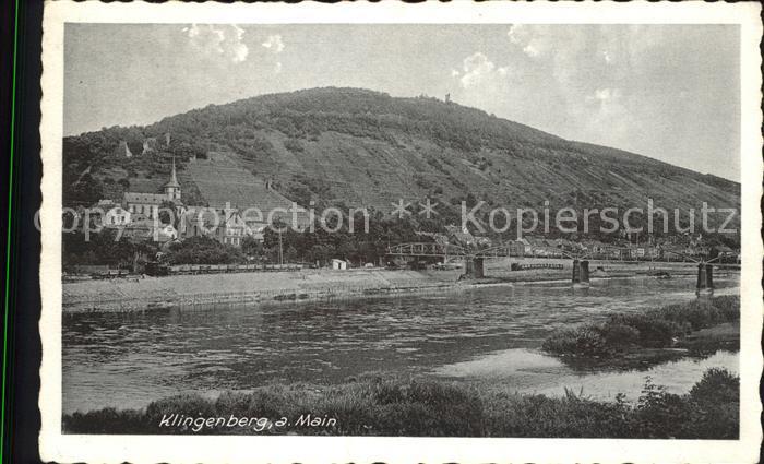 Klingenberg Main  Kat. Klingenberg a.Main