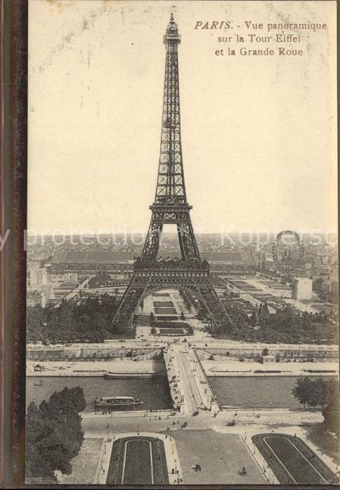 Eiffelturm La Tour Eiffel Paris Grande Roue  Kat. Paris