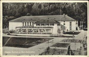 Ilmenau Thueringen Festhalle mit Park Gaststaetten Kat. Ilmenau