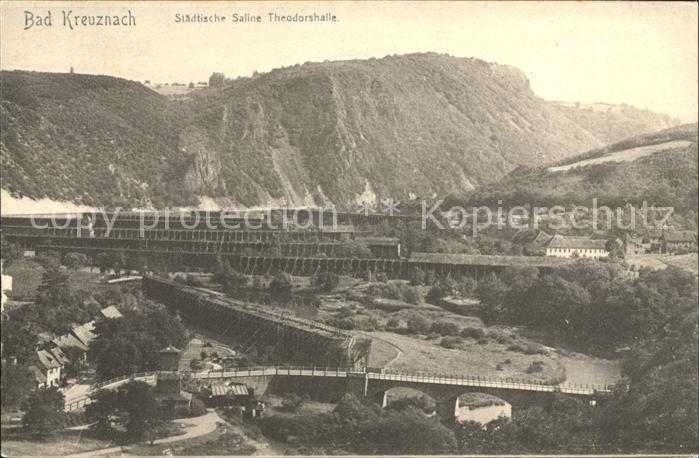 Bad Kreuznach Staedtische Saline Theodorshalle Kat. Bad Kreuznach
