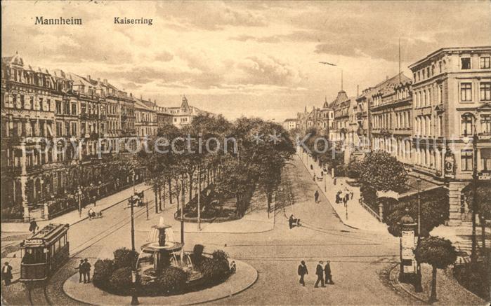 Mannheim Kaiserring Kat. Mannheim