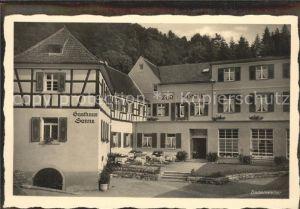 Badenweiler Gasthaus zur Sonne Kat. Badenweiler