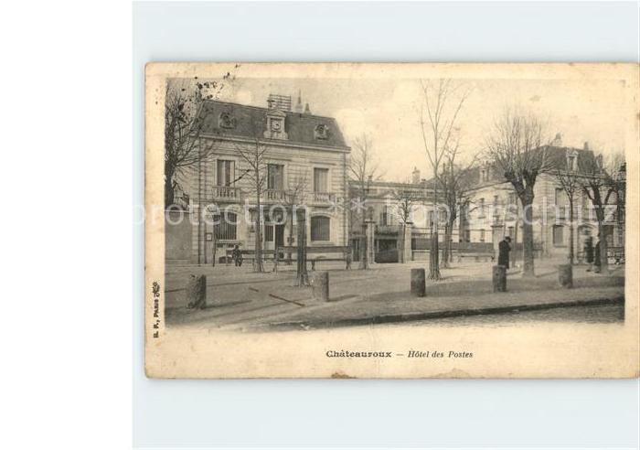 Chateauroux Indre Hotel des Postes / Chateauroux /Arrond. de Chateauroux