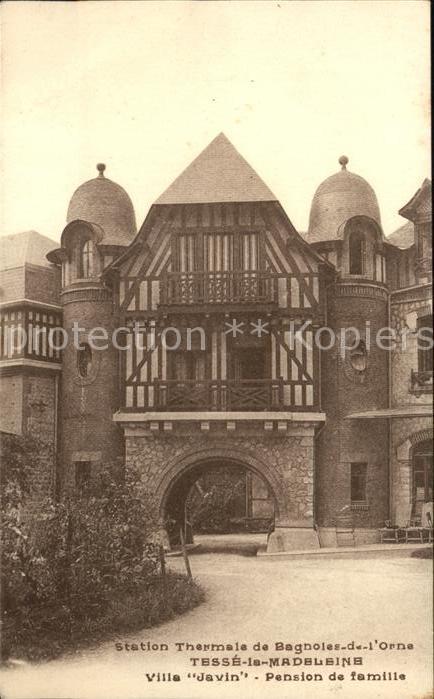 Bagnoles de l Orne Station Thermale Tesse la Madeleine Villa Javin Pension de famille Kat. Bagnoles de l Orne