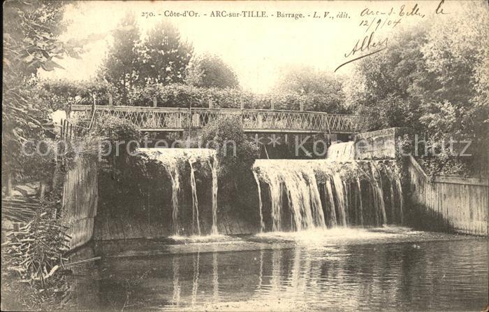 Arc sur Tille Barrage Kat. Arc sur Tille