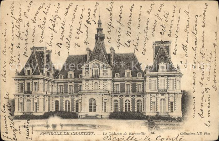 Beville-le-Comte Chateau de Baronville / Beville-le-Comte /Arrond. de Chartres