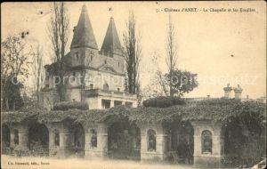 Anet Chateau Chapelle et les Fouilles Kat. Anet