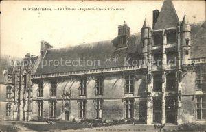 Chateaudun Chateau Facade interieure XVI siecle Kat. Chateaudun