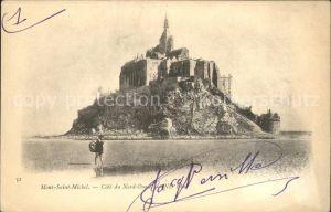 Mont Saint Michel Abbaye Cote du Nord Ouest Kat. Pontorson