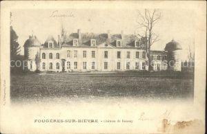 Fougeres sur Bievre Chateau de Boissay Kat. Fougeres sur Bievre