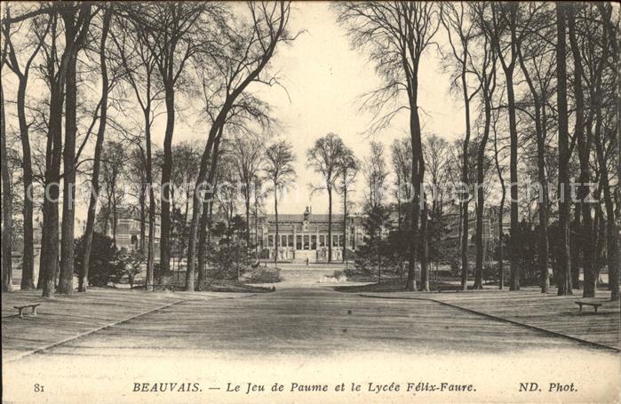 Beauvais Jeu de Paume Lycee Felix Faure Kat. Beauvais