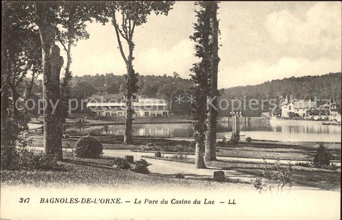 Bagnoles de l Orne Parc du Casino du Lac Kat. Bagnoles de l Orne
