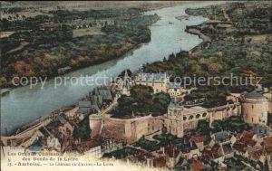 Amboise Chateau vue arienne Collection Grands Chateaux des Bords de la Loire Kat. Amboise