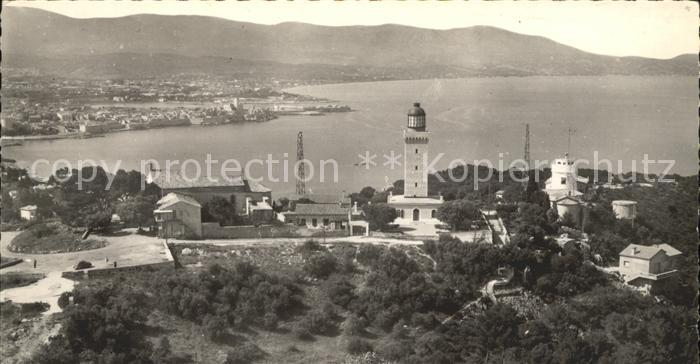 Antibes Alpes Maritimes Panorama Cap Phare et le Semaphore Nice Baie des Anges Kat. Antibes