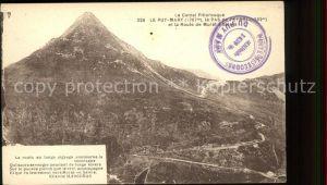 Puy Mary Panorama Pas de Peyrol Route de Murat a Salers Kat. Le Claux
