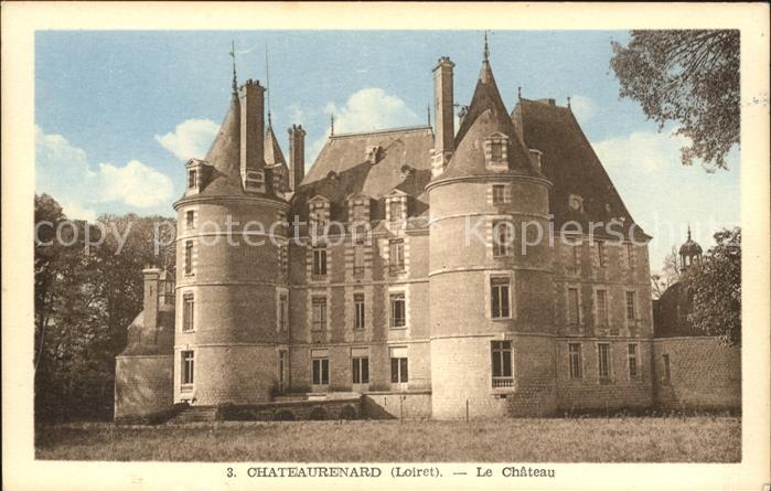 Chateau Renard Chateau Kat. Chateau Renard