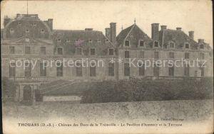 Thouars Chateau des Ducs de la Tremoille Kat. Thouars