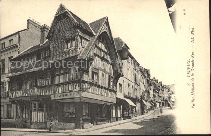 Lisieux Vieilles Maisons de la Grande Rue Kat. Lisieux