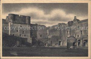 Salses le Chateau Le Fort Le Donjon Kat. Salses le Chateau