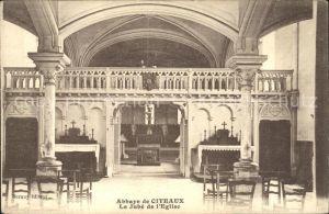 Saint Nicolas les Citeaux Abbaye de Citeaux Jube de l Eglise Kloster Kat. Saint Nicolas les Citeaux
