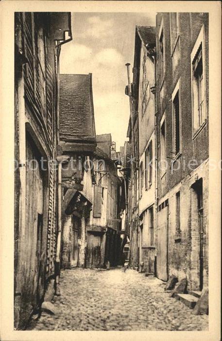 Troyes Aube Rue des Chats Centre de la Ville Kat. Troyes