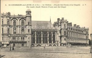 Saint Germain en Laye Chateau Chapelle Kat. Saint Germain en Laye