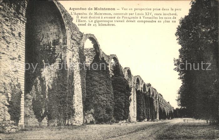 Maintenon Aqueduc Louis XIV Histoire Kat. Maintenon