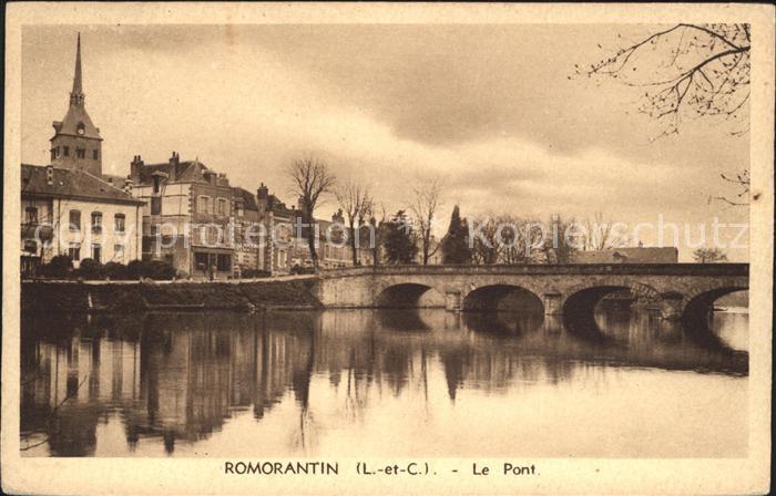 Romorantin Lanthenay Pont Kat. Romorantin Lanthenay