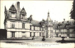 Saint Aignan Loir et Cher Chateau Style Renaissance Kat. Saint Aignan