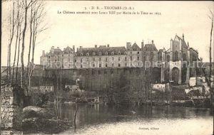 Thouars Chateau Louis XIII Marie de la Tour XVII siecle Kat. Thouars