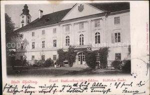 Eferding Fuerstl Stachembergsches Schloss Kat. Eferding