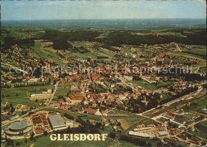 Gleisdorf Erholungsort im oststeirischen Huegelland Fliegeraufnahme Kat. Gleisdorf